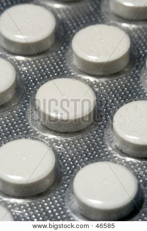 A Blister Pack Of Pills