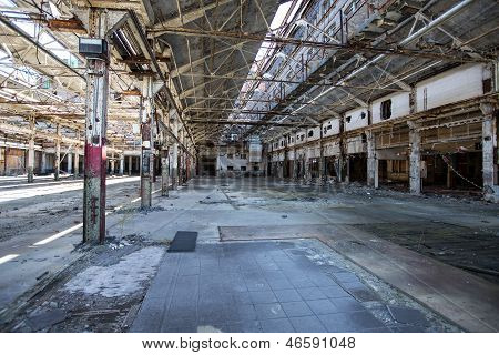 Empty Industrial Warehouse