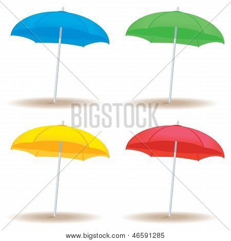 Beach Umbrella Solid