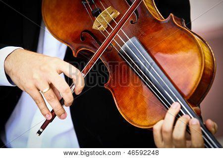 Playing Viola