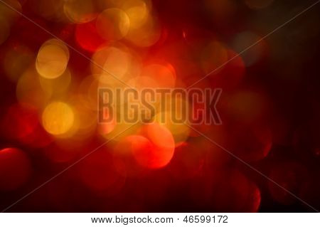 Blurred, Bokeh Lights Background. Abstract Sparkles