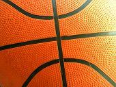 Basketball Lines Macro poster
