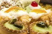 stock photo of pastarelle  - Close up shot of some traditional sicilian pastries - JPG