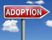 image of guardian  - child adoption becoming a legal guardian and getting guardianship over young child road sign arrow - JPG