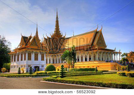 Royal Palace at Phnom Penh, Cambodia