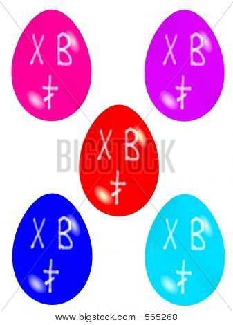 Easter Eggs Russian