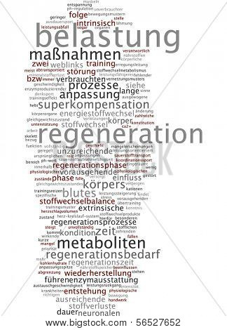 Word cloud -  regeneration