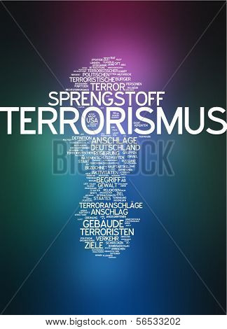 Word cloud -  terrorism