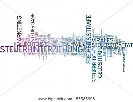 Word cloud -  viral marketing
