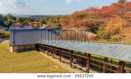 View from  Nigatsu-do Hall in Nara