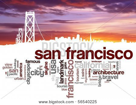 Word cloud - San Fransisco