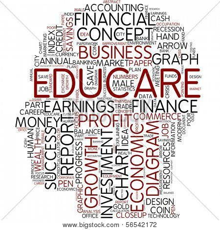 Info-text graphic - educare