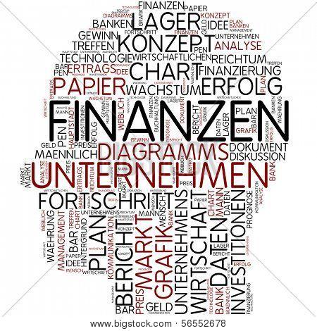 Info-text graphic - finance