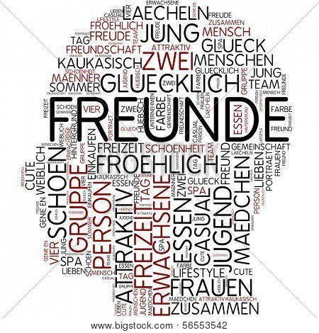 Info-text graphic - friend