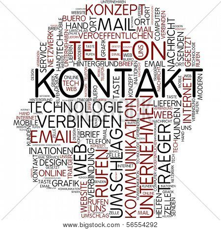 Info-text graphic - contact