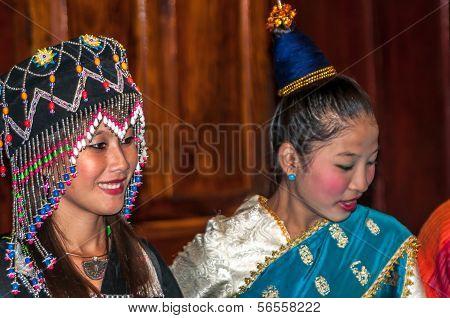 Native Girls From Luang Prabang