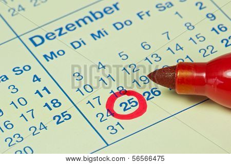 German December 25th