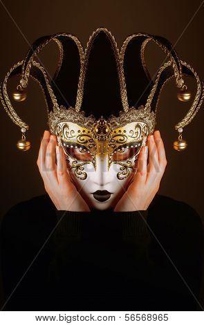 Venice Mask Of Jester