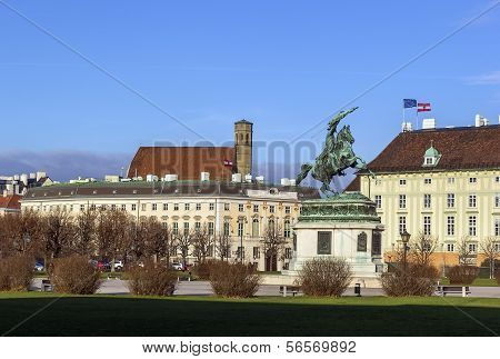 Heldenplatz (heroes' Square), Vienna