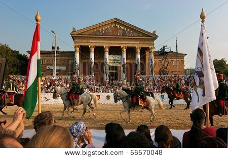 Hungarian National Gallop 2011