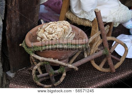 Miniature Wooden Bicycle