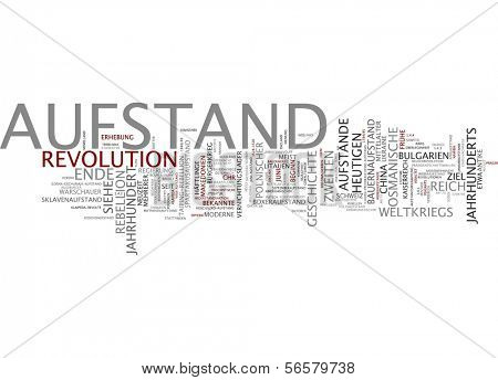 Word cloud - insurgency