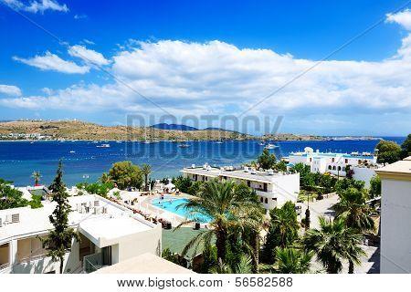 The Beach On Aegean Turkish Resort, Bodrum, Turkey