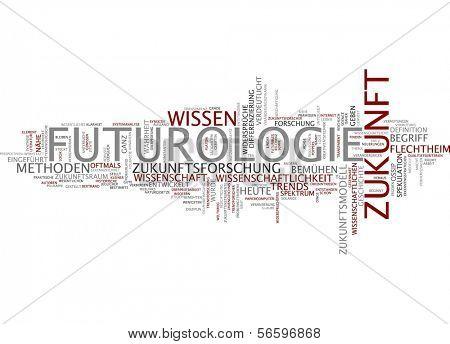 Word cloud - futurology