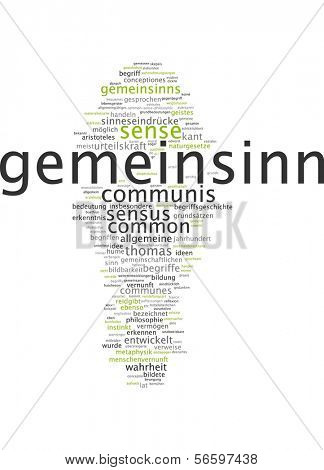 Word cloud - public spirit