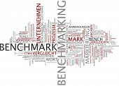 foto of benchmarking  - Word cloud  - JPG