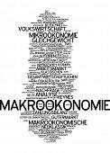stock photo of macroeconomics  - Word cloud  - JPG