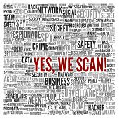 stock photo of virus scan  - SURVEILLANCE  - JPG