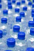 stock photo of drinking water  - bottled drinking water - JPG