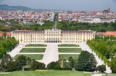 picture of schoenbrunn  - Schonbrunn Palace Garden Gloriette - JPG