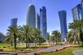 image of qatar  - The skyline of the modern and high - JPG