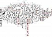 Word cloud - downaging