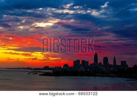 Cleveland Sunrise Sky