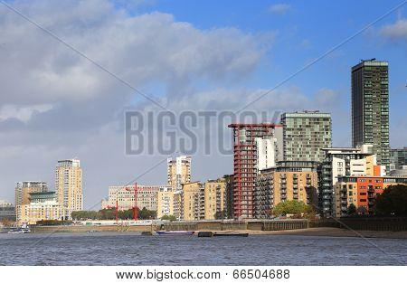 Thames in London, UK, Europe