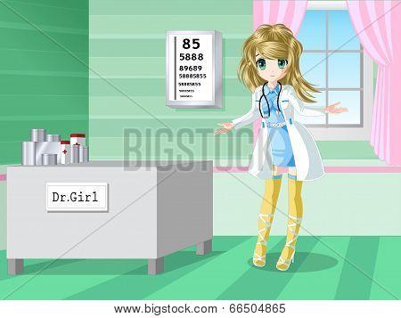 Pretty Doctor Dress Up
