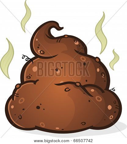 Poop Pile Cartoon