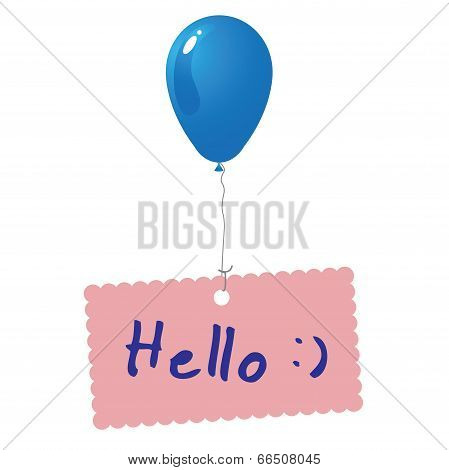 Hello Card Vector.eps