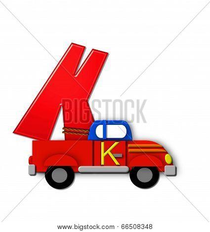 Alphabet On The Go K