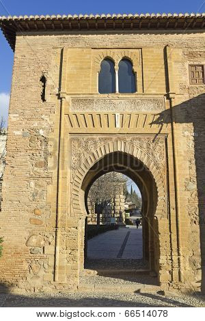 .gate Of Wine. Alhambra.