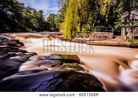 River at noon