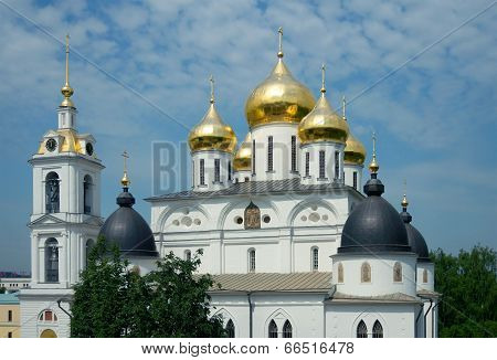 Cathedral Of The Assumption In Dmitrov's Kremlin