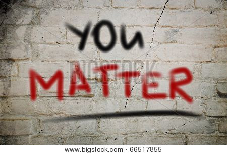 You Matter Concept