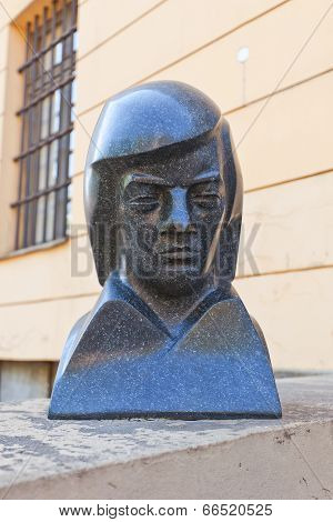 Sculpture Portrait Of Maestro Raimonds Pauls
