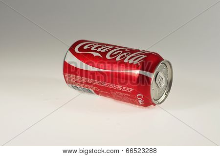 Can of soft drink