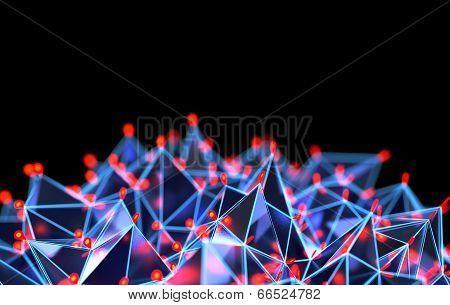 Abstract Geometric Background II
