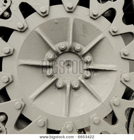 Industrial hubcap gear